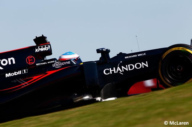 Fernando Alonso - McLaren - Viernes GP EE. UU. 2016