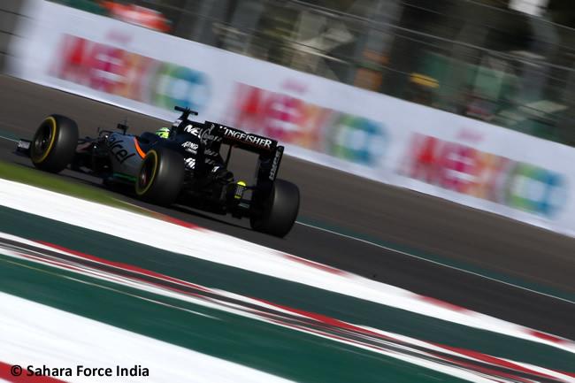 Force India - GP México 2016 - Calificación
