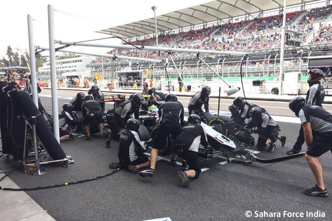 Force India - GP México 2016 - Viernes