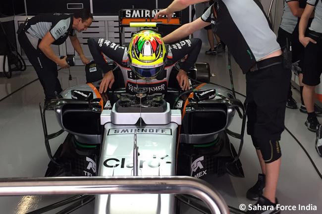 Sergio Pérez - Force India - Sábado GP Japón 2016