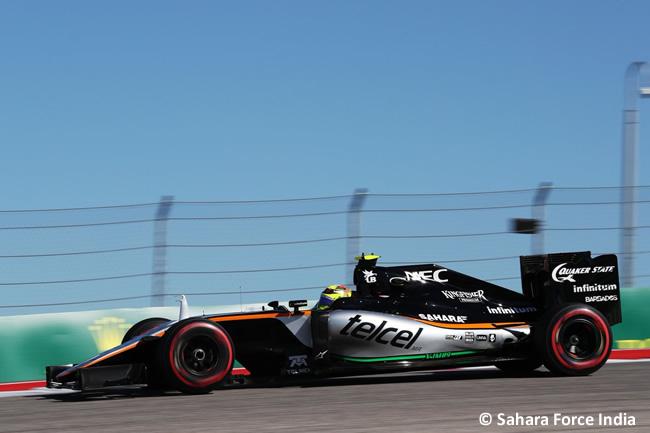 Force India - Viernes GP EE. UU. 2016