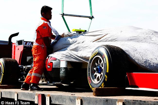 Haas F1 - Carrera GP Malasia 2016