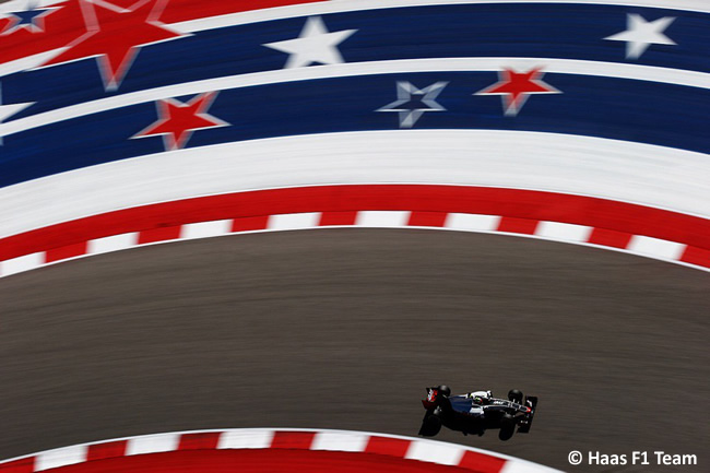 Haas F1 - Sábado - GP EE. UU. 2016