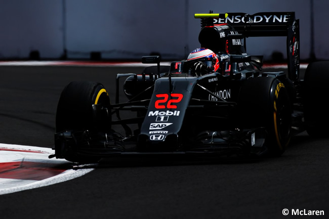 Jenson Button - McLaren - GP México 2016 - Domingo