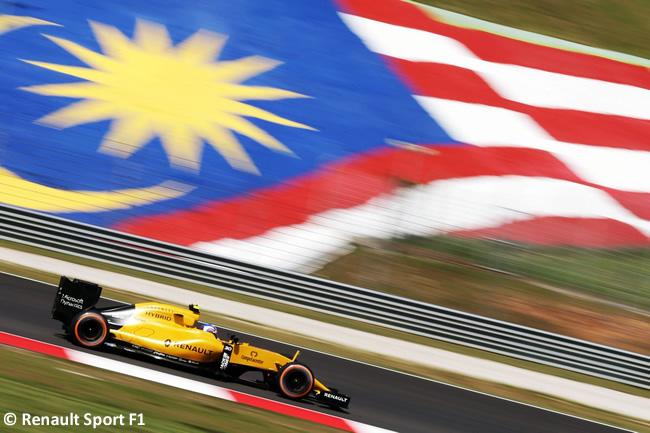 Jolyon Palmer - Renault Sport - Carrera GP Malasia 2016