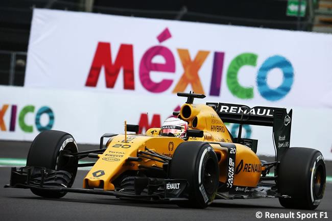Kevin Magnussen - Renault - GP México 2016 - Viernes
