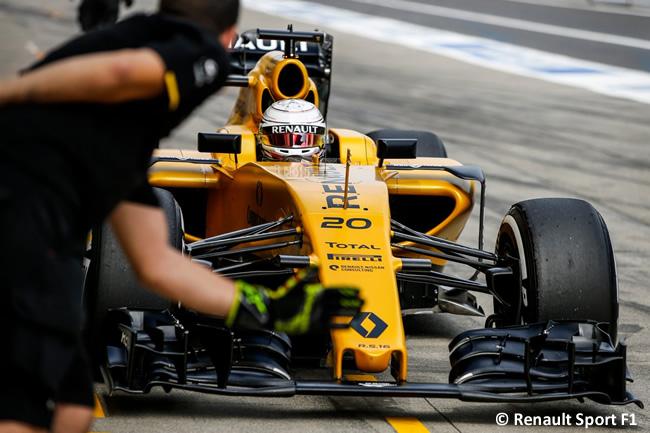 Kevin Magnussen - Renault Sport - Viernes GP Japón 2016