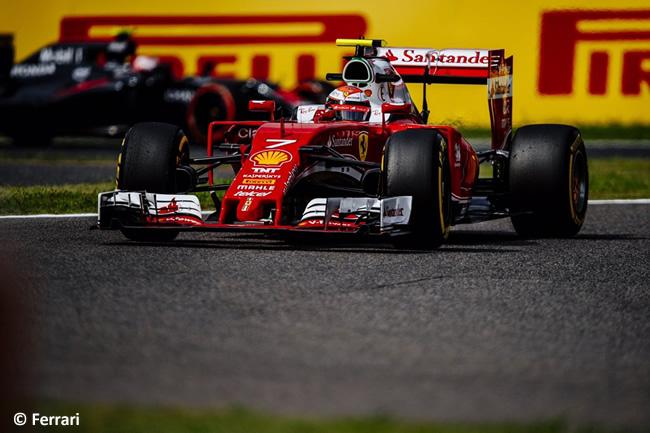 Kimi Raikkonen - Scuderia Ferrari - Viernes GP Japón 2016