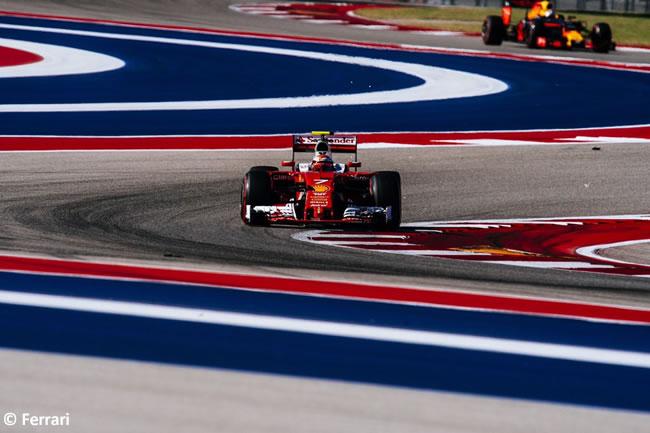 Kimi Raikkonen - Scuderia Ferrari - Sábado - GP EE. UU. 2016