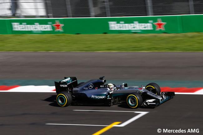 Lewis Hamilton - Mercedes AMG - GP México 2016 - Calificación