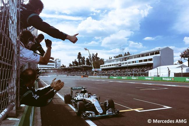 Lewis Hamilton - Mercedes AMG - GP México 2016 - Domingo