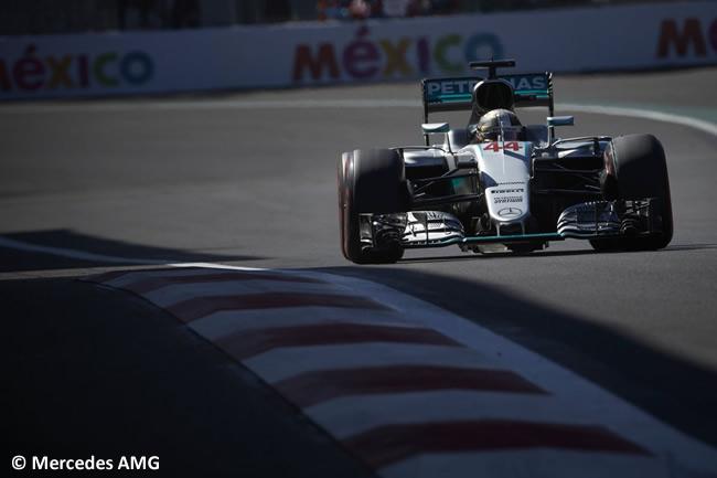 Lewis Hamilton - Mercedes AMG - Calificación - GP México 2016