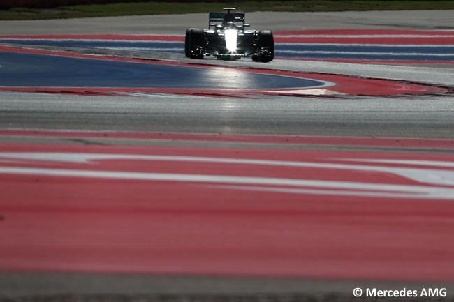 Lewis Hamilton - Mercedes AMG - Sábado - GP EE. UU. 2016