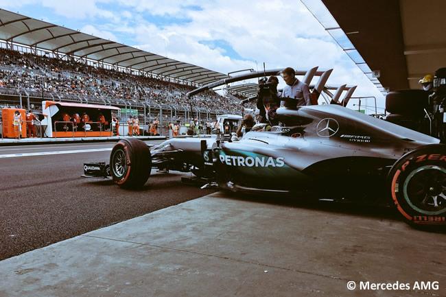 Lewis Hamilton - Mercedes AMG - GP México 2016 - Viernes