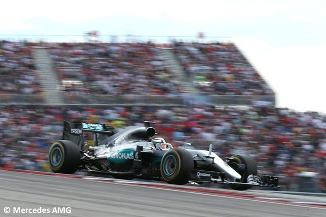 Lewis Hamilton - Mercedes AMG - GP EE. UU. 2016