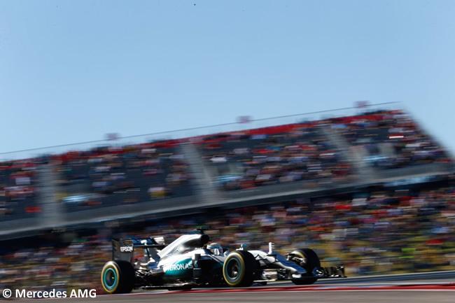 Lewis Hamilton - Mercedes AMG - Pole GP EE. UU. 2016