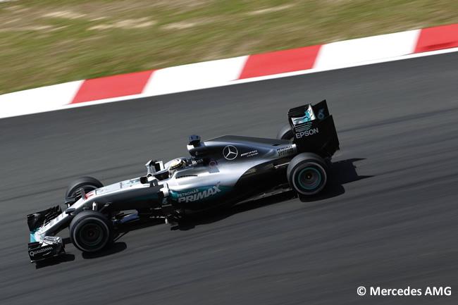 Lewis Hamilton - Calificación - GP Malasia 2016