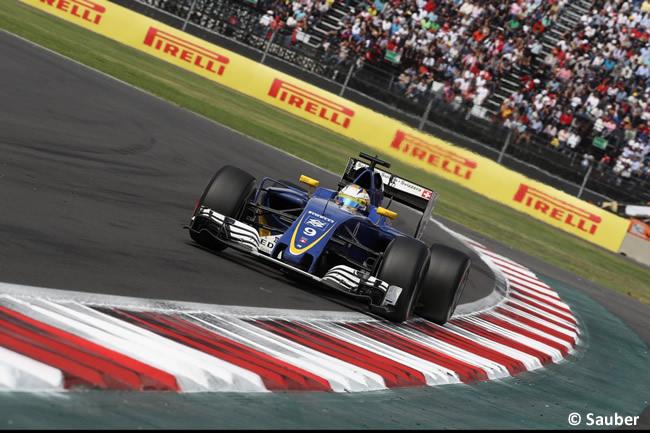 Marcus Ericsson - Sauber - GP México 2016 - Domingo