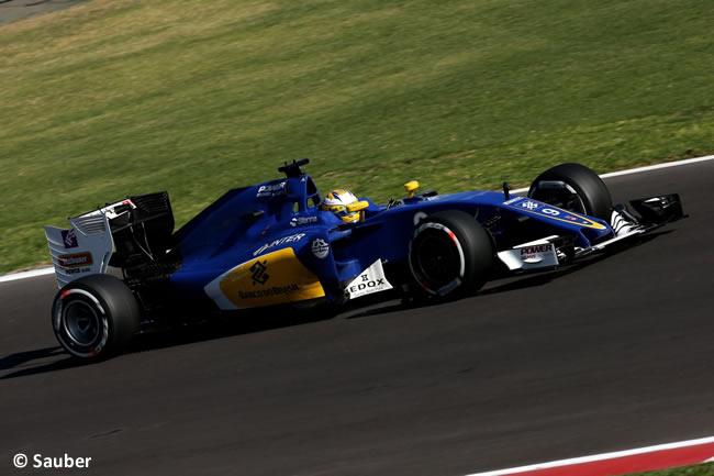 Marcus Ericsson - Sauber - GP México 2016 - Calificación