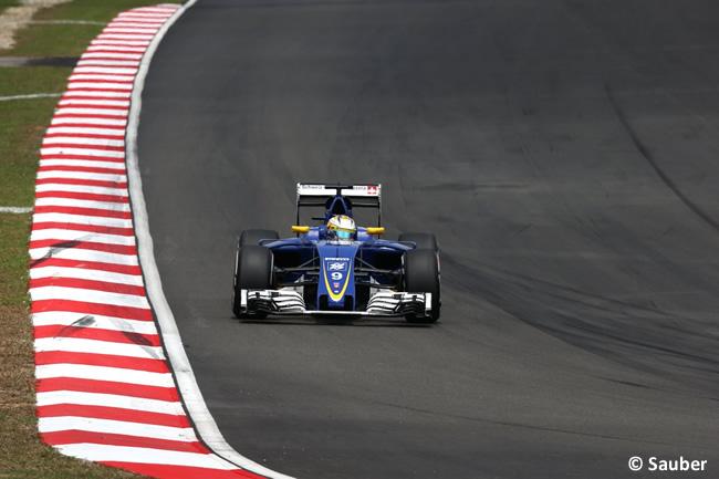 Marcus Ericsson - Sauber -Carrera GP Malasia 2016