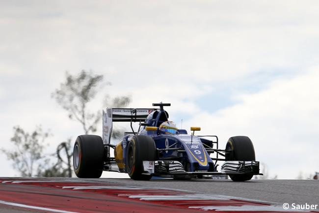Marcus Ericsson - Sauber - GP EE. UU. 2016