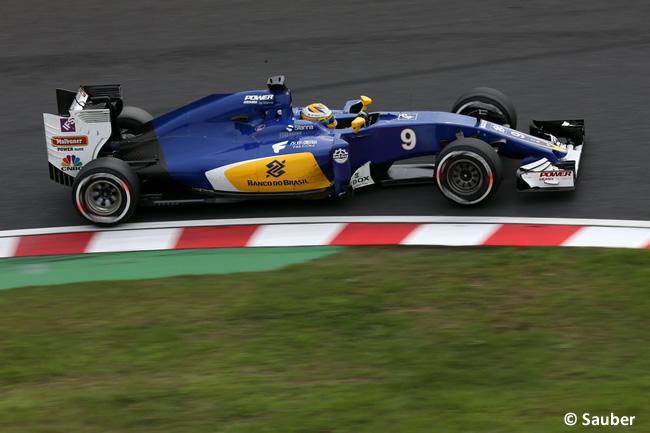 Marcus Ericsson - Sauber - Domingo GP Japón 2016