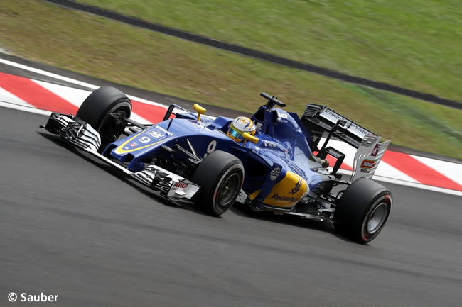 Marcus Ericsson - Sauber - GP Malasia 2016