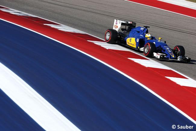 Marcus Ericsson - Sauber - Sábado - GP EE. UU. 2016