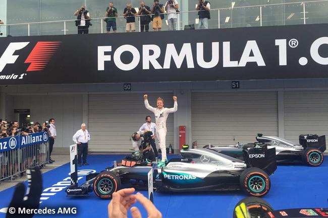 Nico Rosberg - Mercedes AMG - Domingo GP Japón 2016