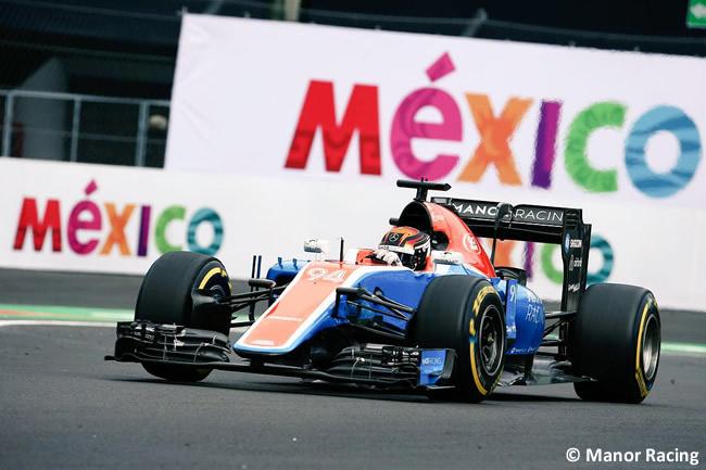 Pascal Wehrlein - Manor Racing - GP México 2016 - Viernes