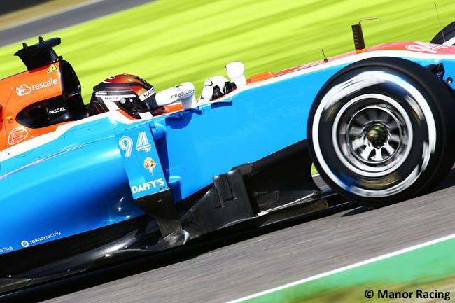Pascal Wehrlein - Manor Racing - Viernes GP Japón 2016