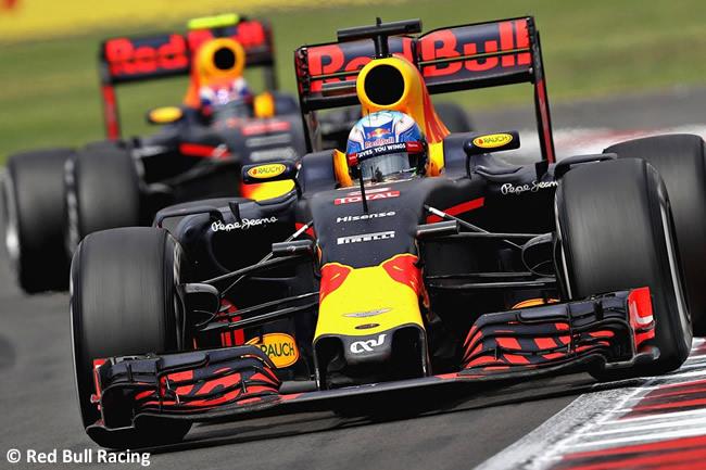 Red Bull Racing - GP México 2016 - Domingo