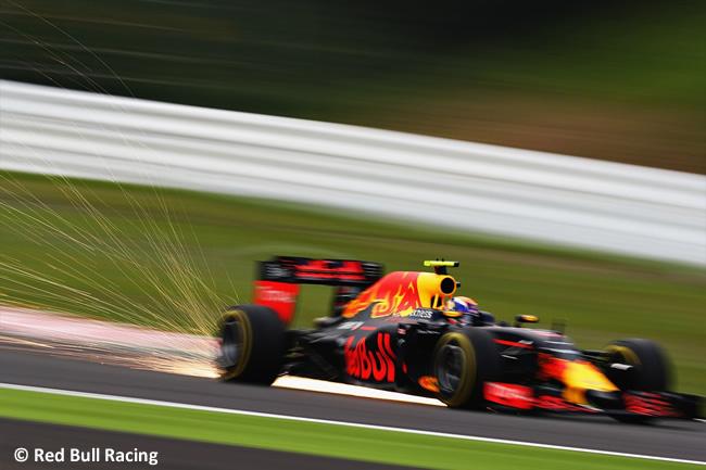 Red Bull Racing - Sábado GP Japón 2016