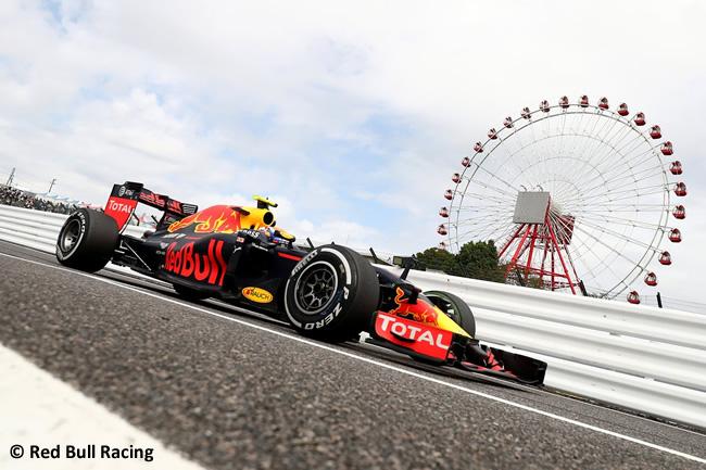 Red Bull Racing - Viernes GP Japón 2016