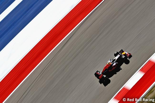 Red Bull Racing - Viernes GP EE. UU. 2016 >