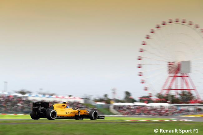 Renault Sport F1 - Domingo GP Japón 2016