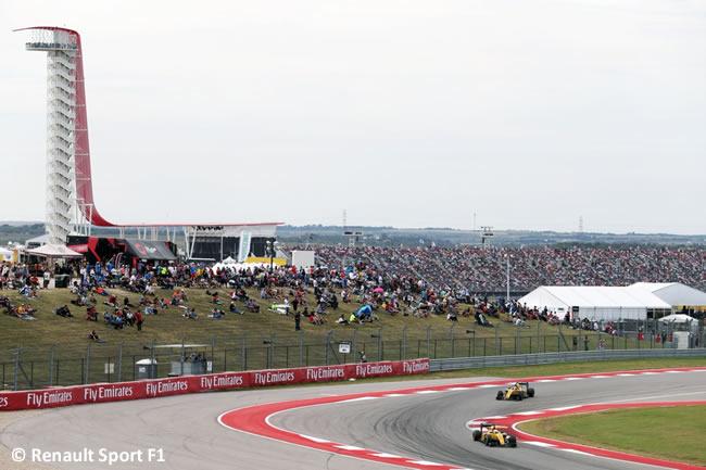 Renault Sport - GP EE. UU. 2016