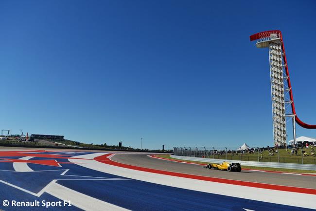 Renault Sport - Viernes GP EE. UU. 2016