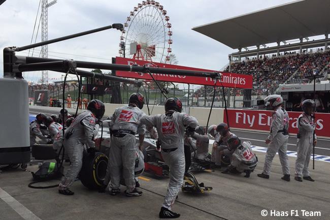 Haas F1 - Domingo GP Japón 2016