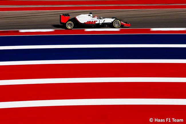 Romain Grosjean - Haas - Viernes GP EE. UU. 2016