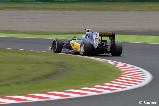 Sauber - Sábado GP Japón 2016