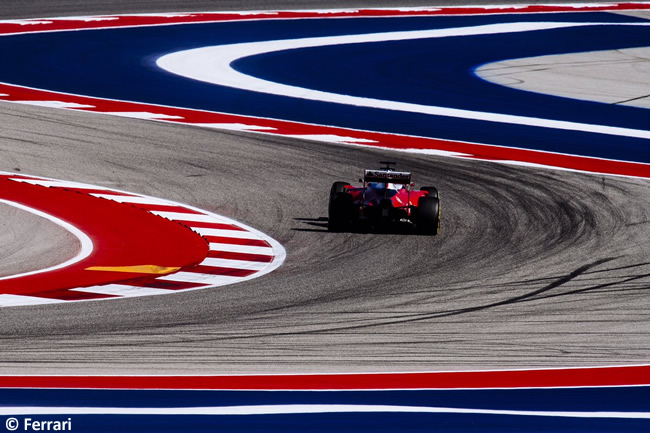 Scuderia Ferrari - GP EE. UU. 2016