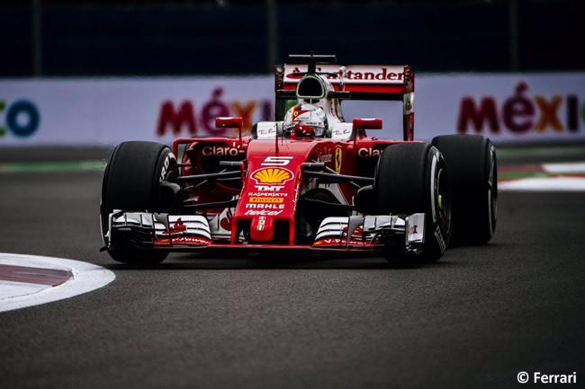 Sebastian Vettel - Scuderia Ferrari - GP México 2016 - Domingo