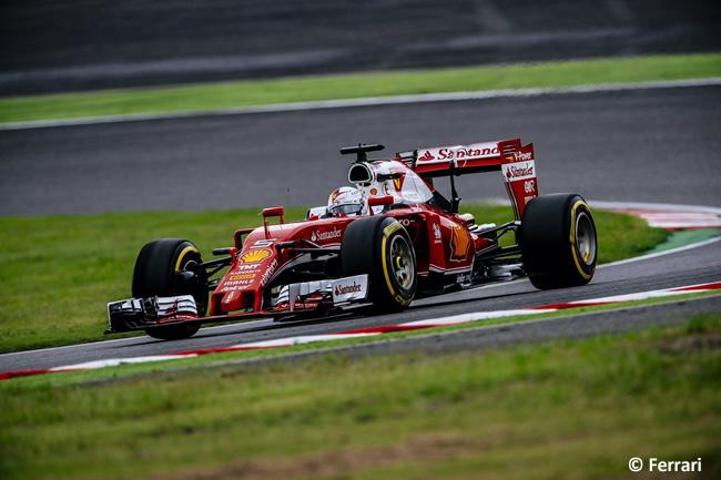 Sebastian Vettel - Scuderia Ferrari - Domingo GP Japón 2016
