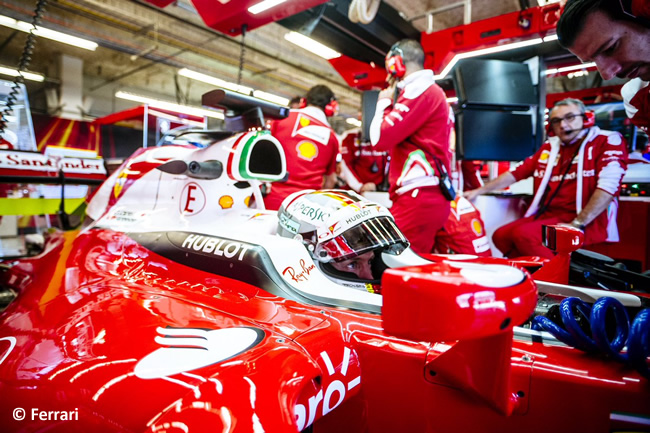 Sebastian Vettel - Scuderia Ferrari - Viernes GP EE. UU. 2016