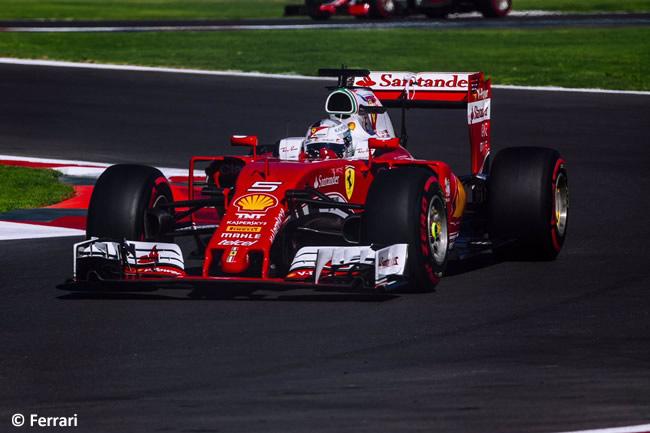 Sebastian Vettel - Scuderia Ferrari - GP México 2016 - Calificación