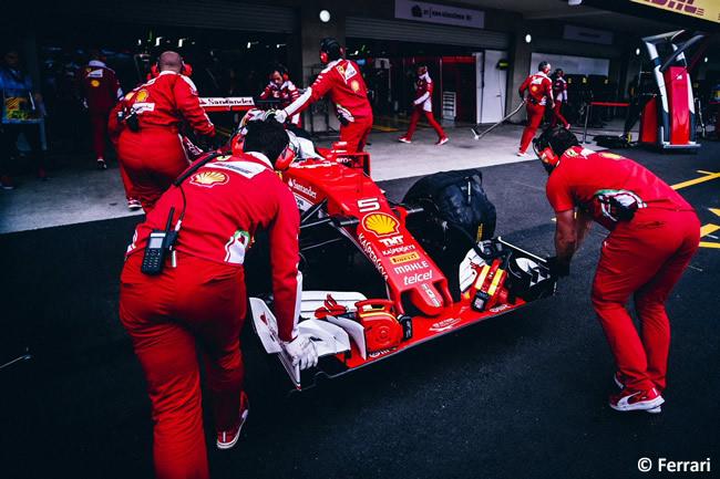 Sebastian Vettel - Scuderia Ferrari - GP México 2016 - Viernes