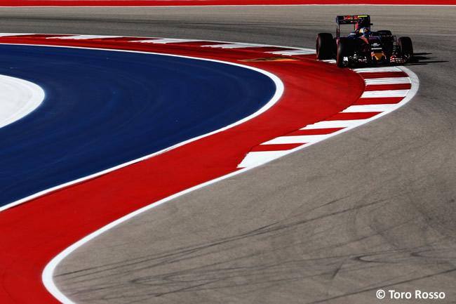 Toro Rosso - Sábado - GP EE. UU. 2016