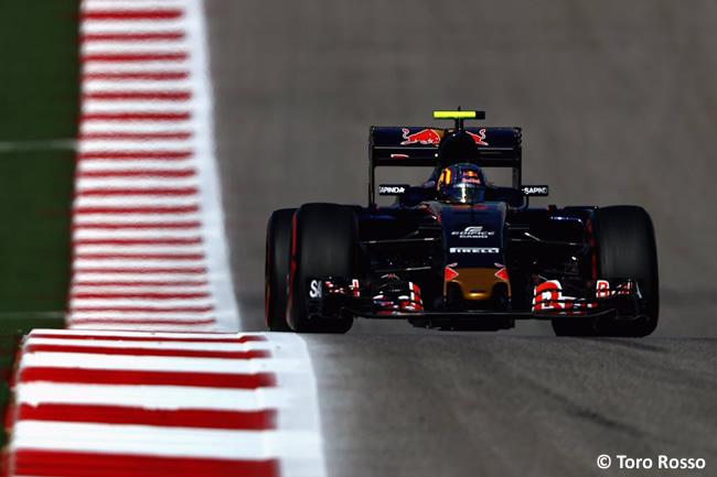 Toro Rosso - Viernes GP EE. UU. 2016