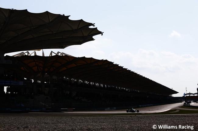Williams -Carrera GP Malasia 2016